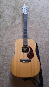 Martin X Series DX1RAE Dreadnought Acoustic-Electric Guitar W/ Hard Case in Vista, California