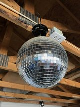 "Mirror disco ball electric 10"" in Yucca Valley, California"