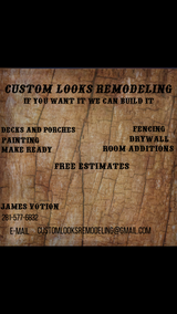 Custom Looks Remodeling in Kingwood, Texas