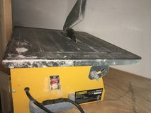 Wet cutting tile saw in working condition in Travis AFB, California