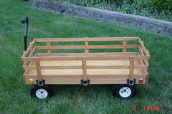 Custom Kids Oak Wagon in Plainfield, Illinois