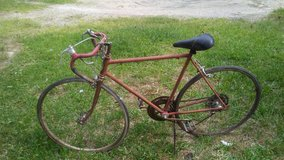 Vintage red Schwinn varsity bike in Kingwood, Texas