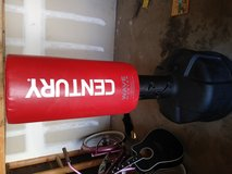 New Century standing punching bag with mma gloves in 29 Palms, California