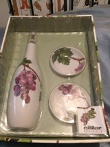 CELLAR GRAPE CARAFE SET  (MACY'S) in Travis AFB, California