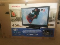 "46"" SHARP LCD TV-FOR PARTS ONLY in Vacaville, California"