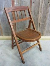 Vintage Child (?) Folding Chair - Very rare! in Kingwood, Texas