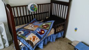 Crib and dresser / changing table in Travis AFB, California