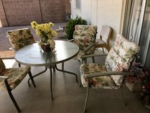 Outdoor patio set in Luke AFB, Arizona