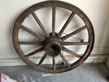 Wagon Wheel  Wooden in Fort Campbell, Kentucky