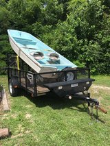13' classic Boston whaler hull and trailer in Goldsboro, North Carolina