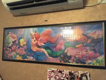 Disney: The Little Mermaid panorama puzzle in Okinawa, Japan