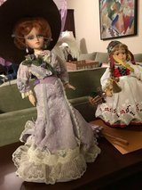 Madame Alexander Victorian Catherine and a German Folklore Doll in Elgin, Illinois