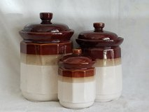 Vintage Crockpot Style Canisters and Salt&Pepper Shakers in Camp Lejeune, North Carolina