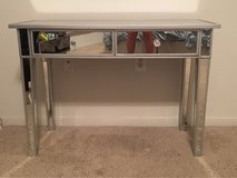 Mirrored 2-drawer console table / desk in Bellaire, Texas