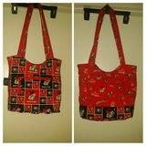 GO DAWGS...Ga Bulldogs Tote, reversible pattern in Perry, Georgia