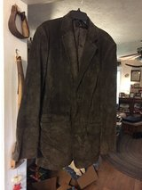 Leather suit coat in Spring, Texas