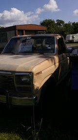 1982 F-100 flareside project (by owner) in Baytown, Texas
