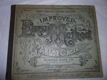 1800s 'How to Play' the Parlor Organ Book in Warner Robins, Georgia