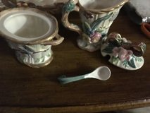 Sugar Bowl and Creamer by Fitz & Floyd in Spring, Texas