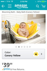 Baby Blooming Bath Flower in Alamogordo, New Mexico