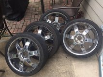 "20"" rims and tires in Conroe, Texas"