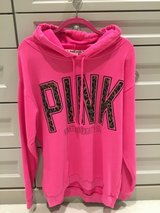 """Pink"" Hoodie- Size M but runs bigger in Chicago, Illinois"