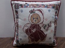 NEW Rare Cherished Teddies Alice Tapestry Woven Pillow in Kingwood, Texas