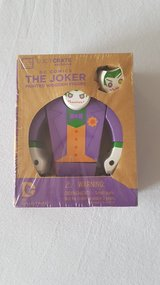 Lootcrate DC Comics The Joker Painted Wooden Figure in Ramstein, Germany