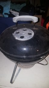 Mini Weber charcoal grill in Lockport, Illinois