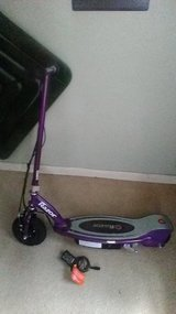 Razor Electric scooter in Keesler AFB, Mississippi