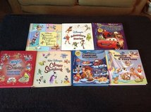 WALT DISNEY 7 (100+ PAGES) THICK STORYBOOK CLASSIC COLLECTIONS in Travis AFB, California