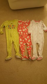 24 month Girls Winter Fleece Pajamas in Bartlett, Illinois