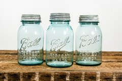 1910-1933 BALL PERFECT MASON jars  with Zinc lids in Spring, Texas