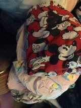 DISNEY CHARACTERS TWIN FITTED SHEETS in Travis AFB, California