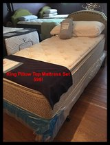 Best Selling King Pillow Top Mattress Sets @ Green Night's Sleep in Conroe, Texas