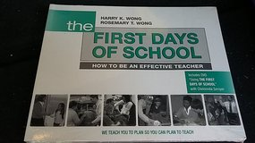book:  first days of school in Camp Lejeune, North Carolina