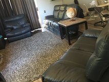 3pc Reclining Sofa/Love-seat/Chair Couch Set in San Diego, California