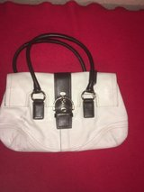 Coach White Leather Satchel Style Purse in Fort Rucker, Alabama