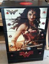 Wonder Woman Dresser in Camp Lejeune, North Carolina
