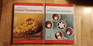 Martha Stewart Cooking and Craft How To and Ideas Dvds in Spring, Texas