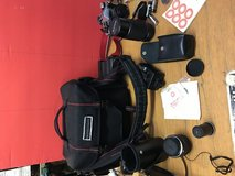 Canon AE-1 program Camera ?? with accessories/Bag in Baytown, Texas