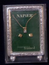 Vintage Napier Perfectly Framed Necklace &  Earrings Set in Kingwood, Texas