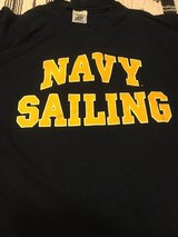 NAVY SAILING T-SHIRT from USNA SIZE XLG.? in Okinawa, Japan