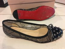 100%authentic Christian louboutin flats size 38 or 7.5 us in Okinawa, Japan