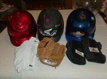 Glove, Helmet, Pads in Lockport, Illinois