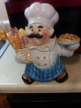 Chef cookie jar in Fort Campbell, Kentucky