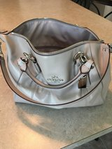 Coach (gray) purse in Sugar Grove, Illinois