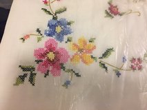Embroidered Tablecloth plus 12 napkins in Okinawa, Japan
