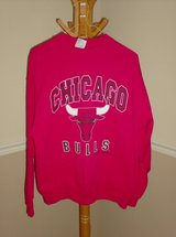 Long Sleeve Chicago Bulls Sweatshirt - Size XL in St. Charles, Illinois