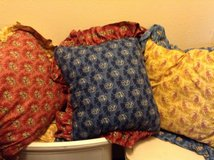4 PASLEY PILLOWS COORDINATE in Travis AFB, California